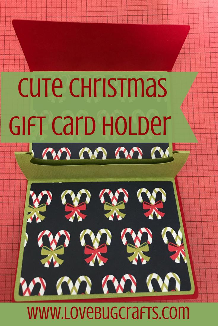 Cute christmas gift card holder ideas