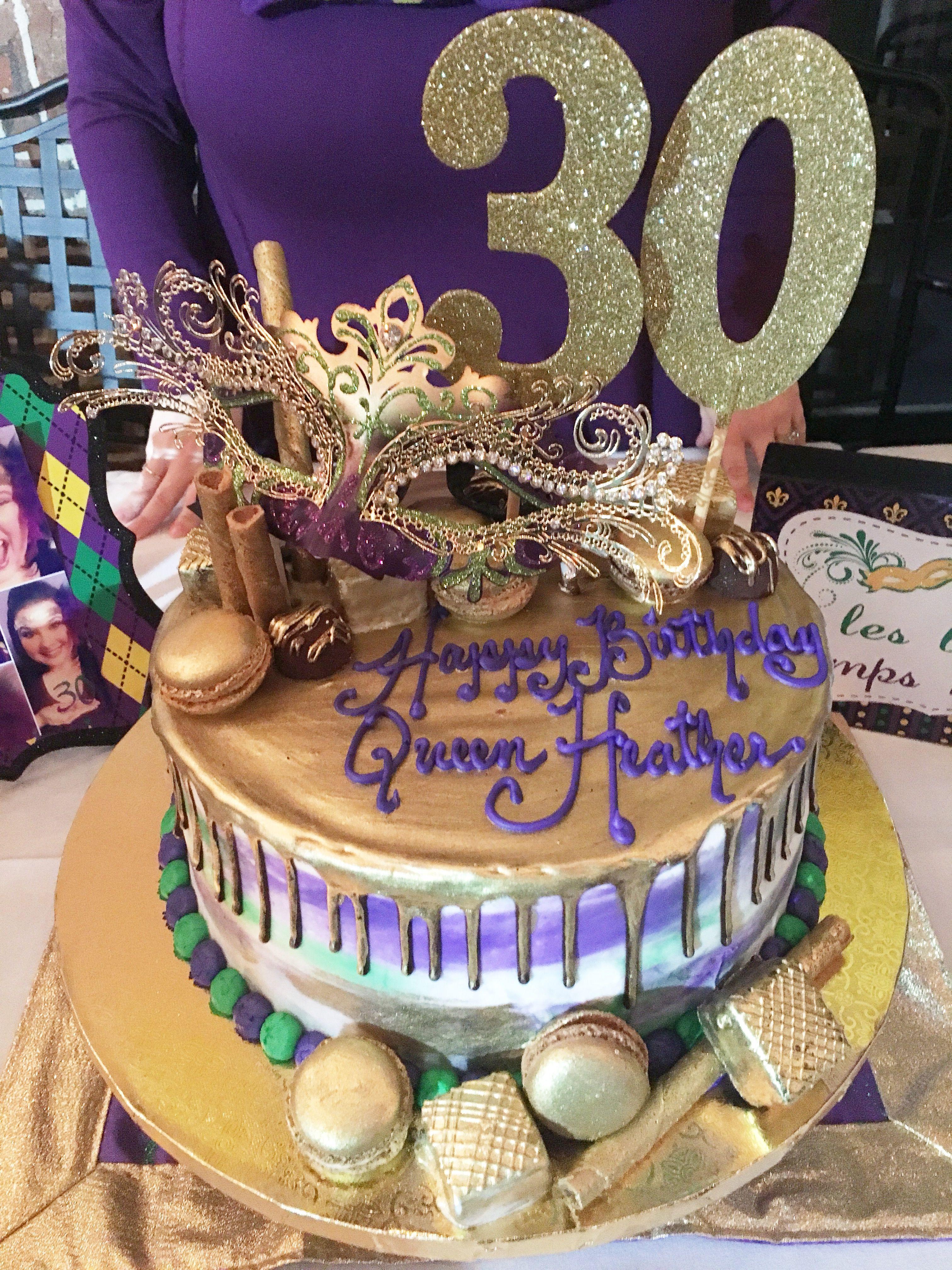 Outstanding Mardi Gras Birthday Cake Mardigras With Images Mardi Gras Funny Birthday Cards Online Alyptdamsfinfo