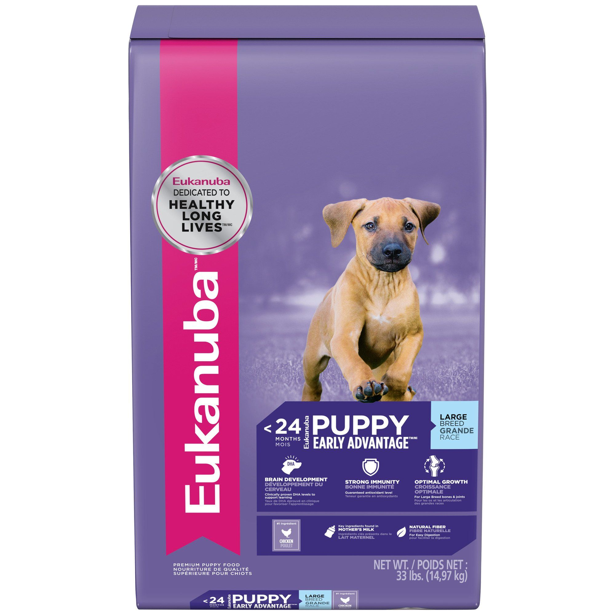 Eukanuba Large Breed Puppy Food 33 Lbs Large Breed Puppy Food