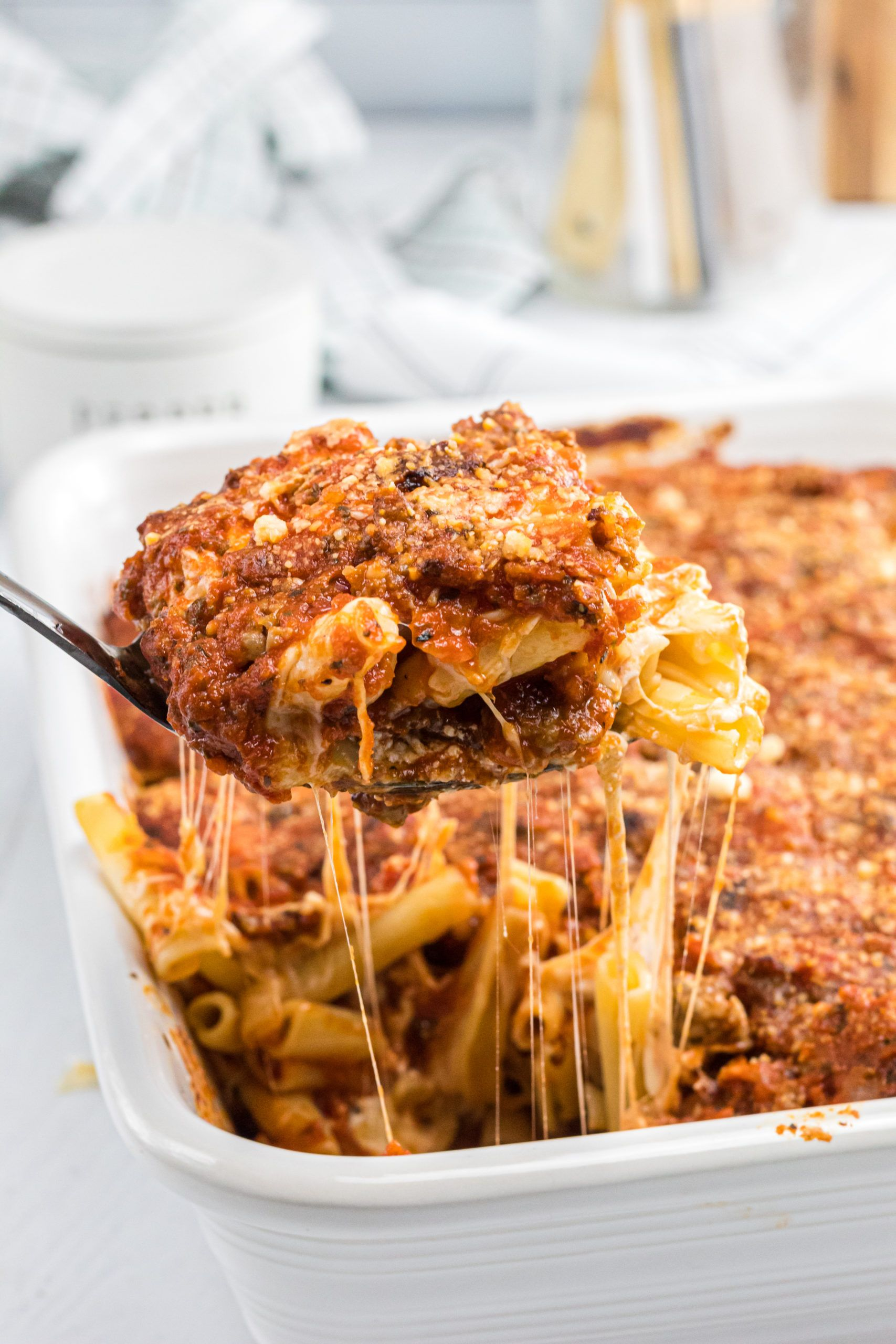 World S Best Baked Ziti Must Try Recipe Made It Ate It Loved It Recipe In 2020 Baked Ziti Eat Cooking For A Crowd