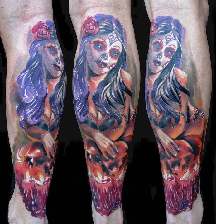 Awesome Tattoos By Kamil Terczynski