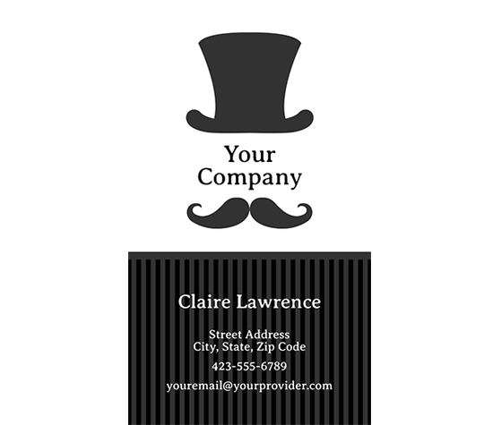 download this mr  top hat business card template and other free printables from myscrapnook com