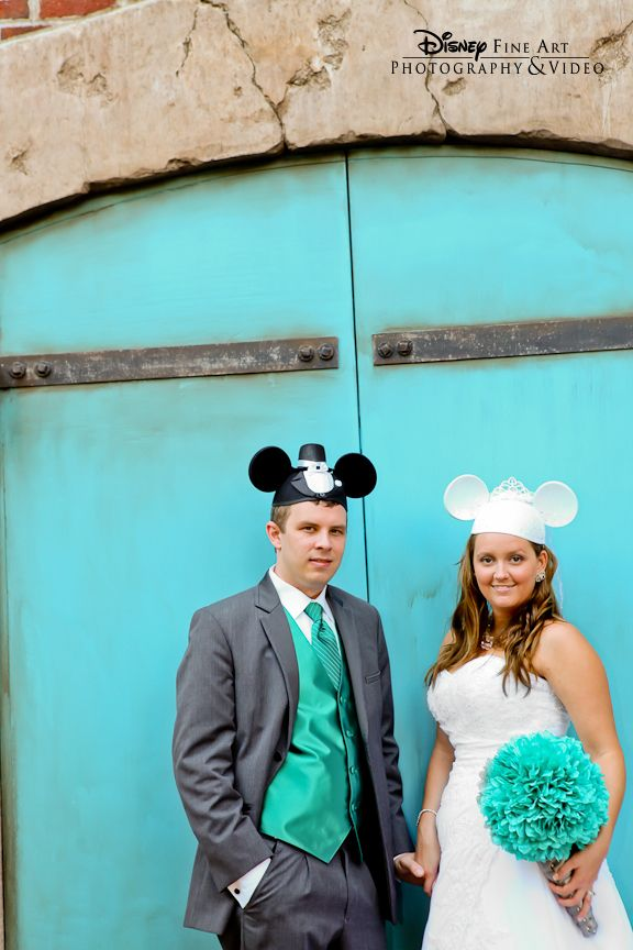 The perfect accessory for any Disney wedding  Mickey and Minnie ears ... 29bff084748