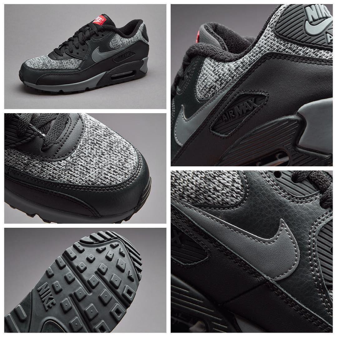 Nike Wmns Air Max 90 Essential Dark Grey Sunset Glow Black Platinum | Footshop