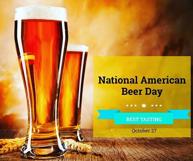 So What S The Best Tasting American Beer I M Curious But Only Because It Was National American Beer Day Beer Day Fundraising Marketing American Beer