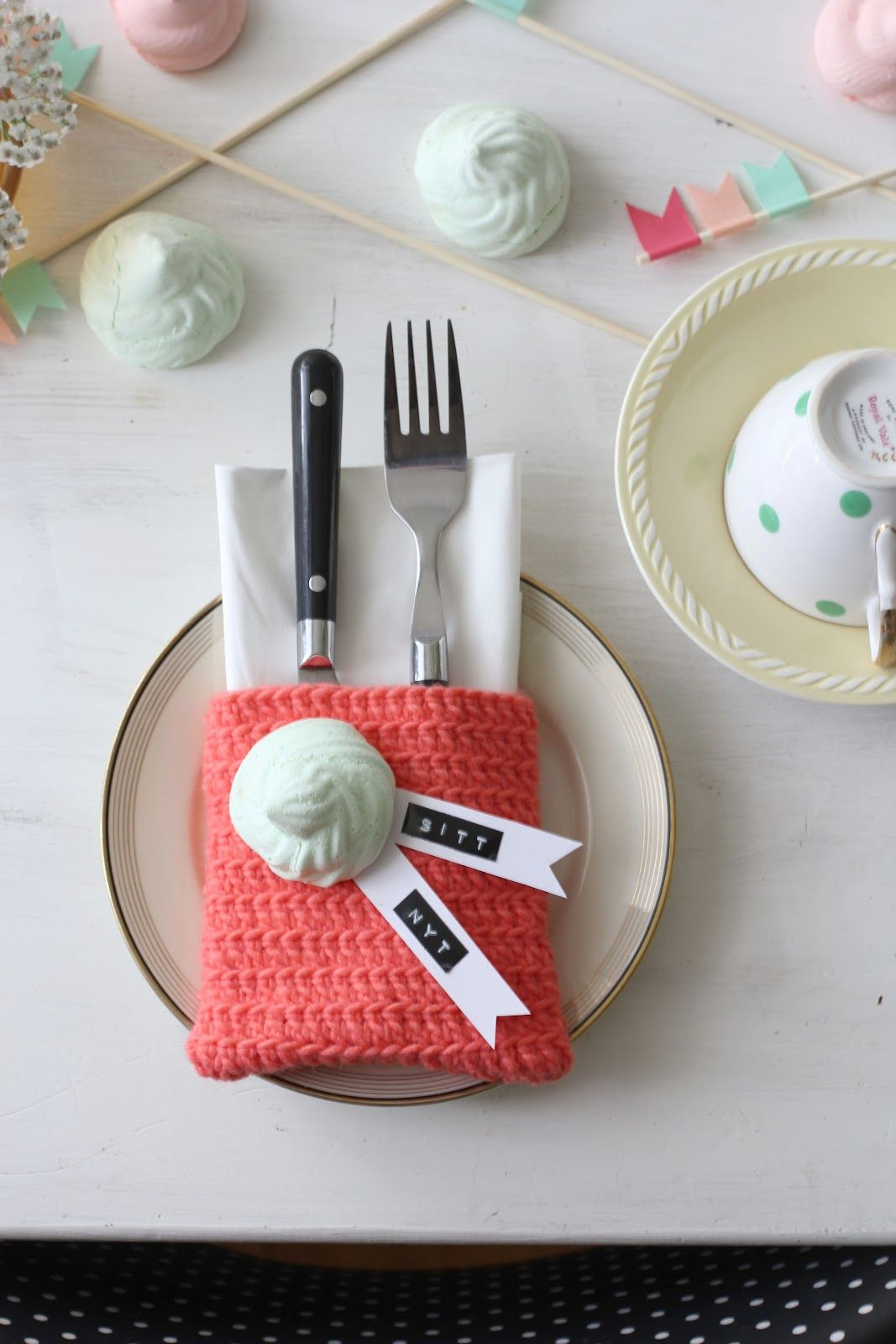 Great Place Setting Ideas With A Little Dymo Touch Dymo