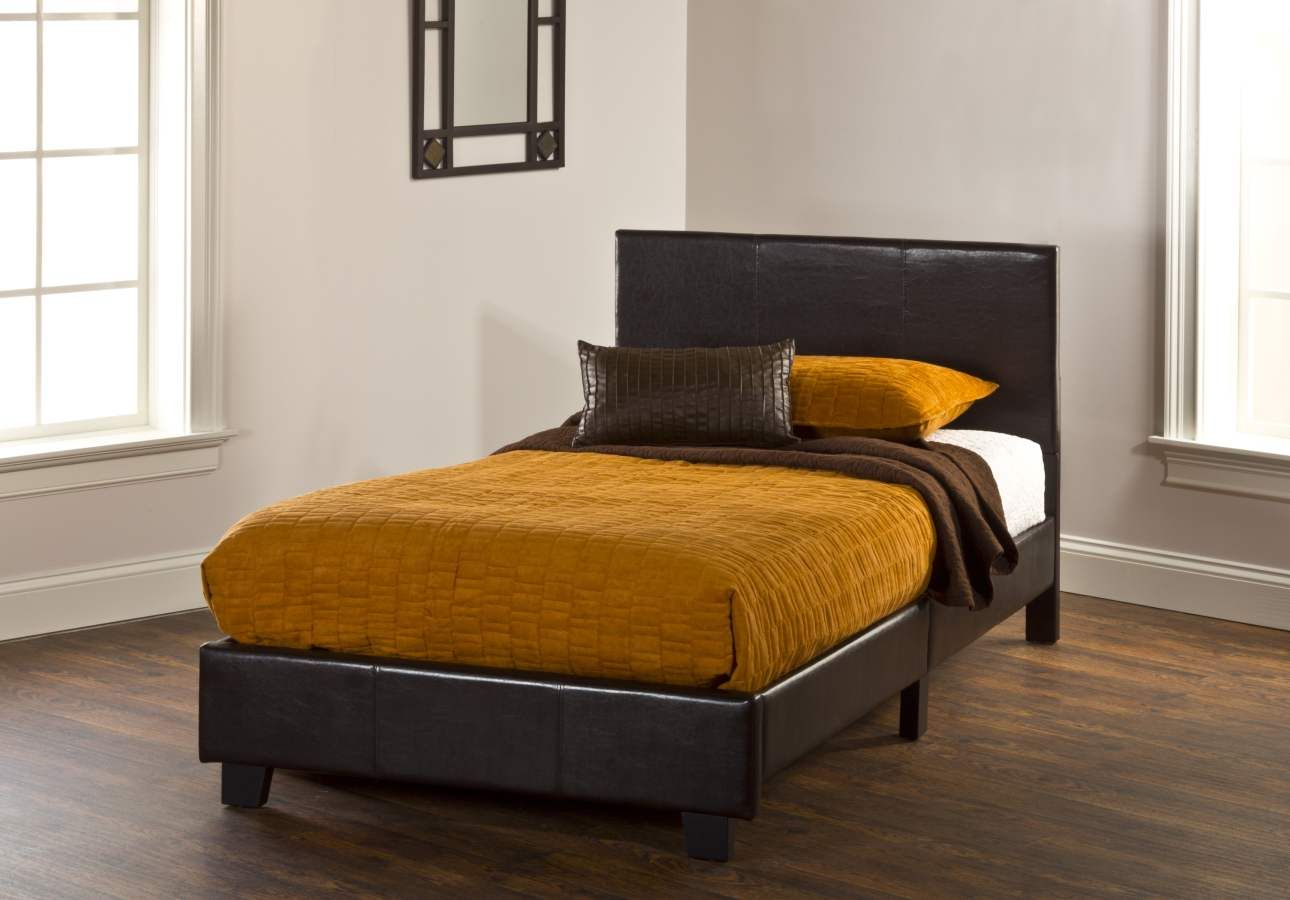 Springfield Brown Pu Bed In A Box Twin Bed Set 1613 330 With Images Bedroom Furniture Sets Hillsdale Furniture Affordable Bedroom Furniture