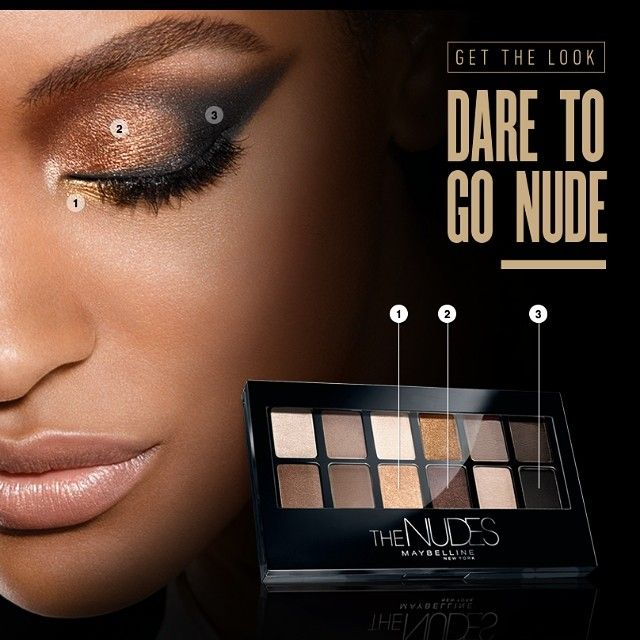 """""""I Dare you to go NUDE @maybelline"""" Photo taken by @officialjdunn on Instagram, pinned via the InstaPin iOS App! http://www.instapinapp.com (08/07/2014)"""