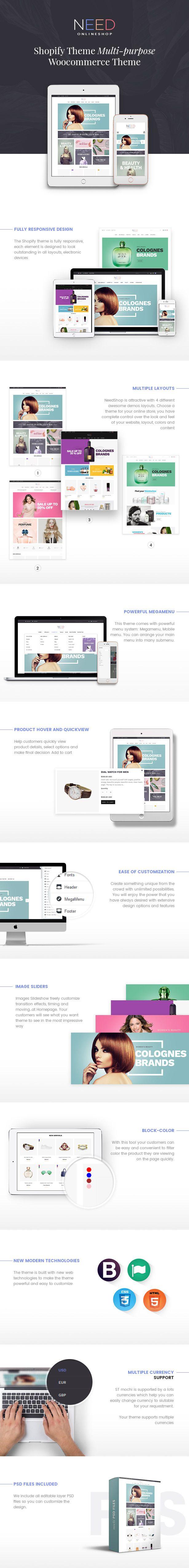 Responsive shopify theme for fashion download shopify