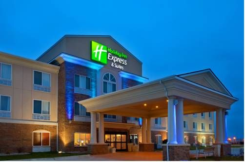 Holiday Inn Express Hotel & Suites Mattoon Mattoon (Illinois) Just off Interstate 57 and less than 8 miles from Eastern Illinois University, this Mattoon hotel features an indoor pool and hot tub on site. Free Wi-Fi and cable TV are included in every room.