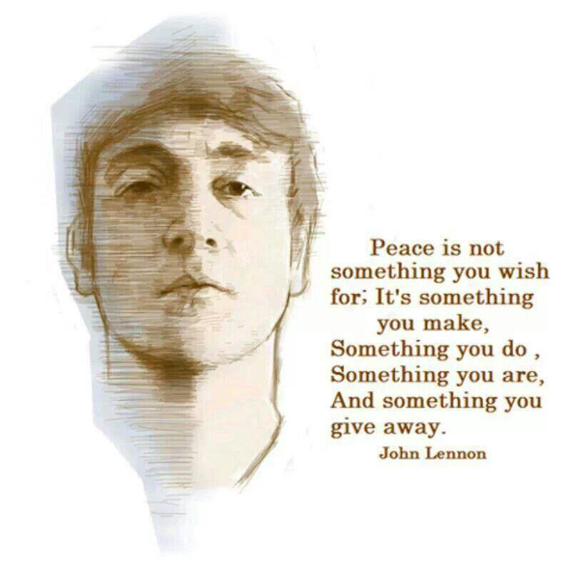 John Lennon Message Of Peace Social Justice John Lennon Quotes