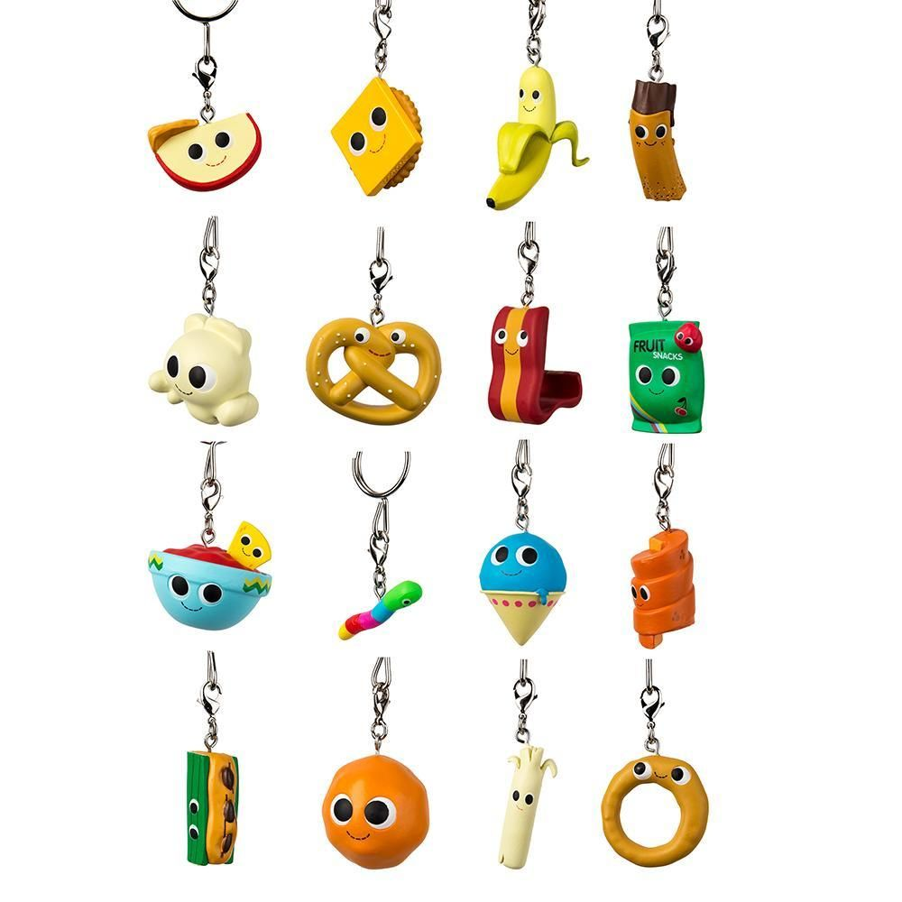 Yummy World Snack Attack Blind Bag Keychains Yummy World