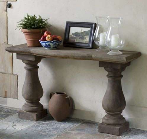 Captivating Vicenza Console Table For The Tuscan Villa.