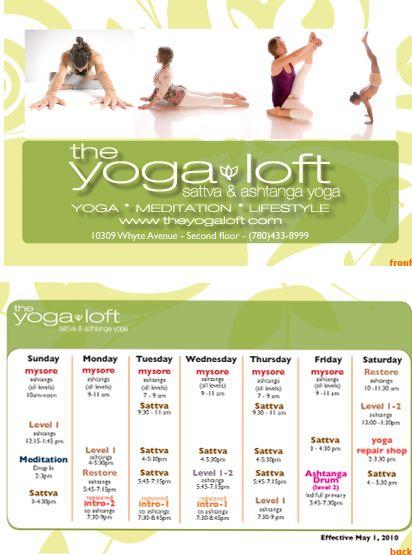 Vinyasa Yoga Flyer flyer yoga Pinterest – Yoga Flyer