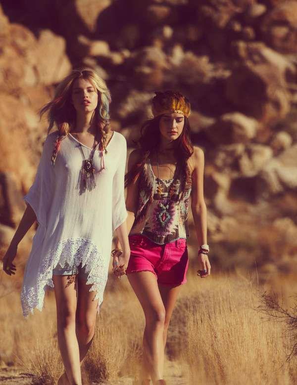 . ★ ❥ #bohemian High Snobiety Coachella 2013