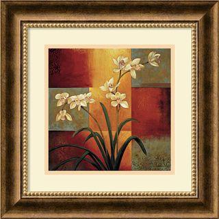 overstockcom artist jill deverauxtitle white orchidproduct type framed printhttp