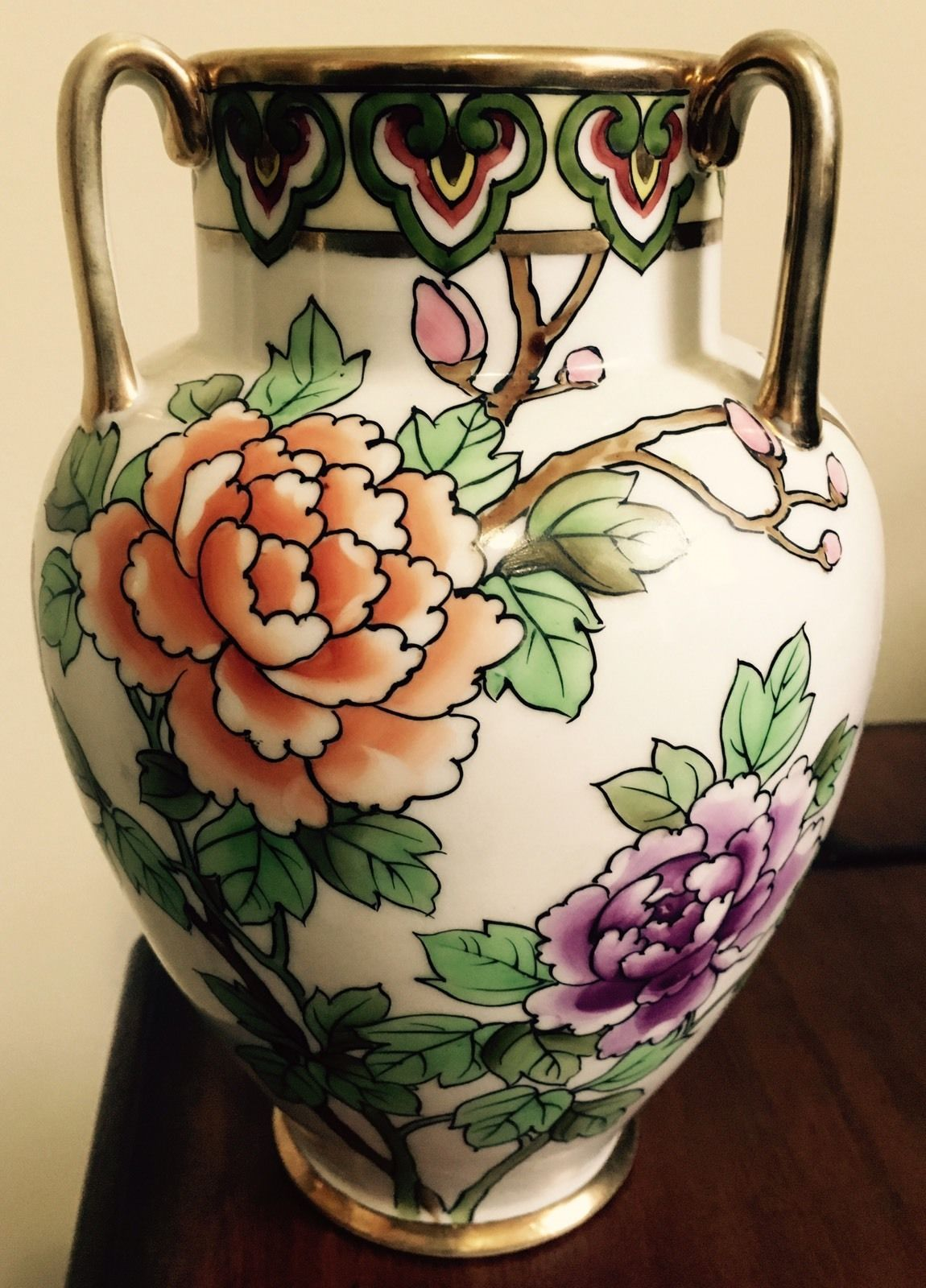 Antique hand painted nippon vase ebay pretty miscellaneous antique hand painted nippon vase ebay reviewsmspy