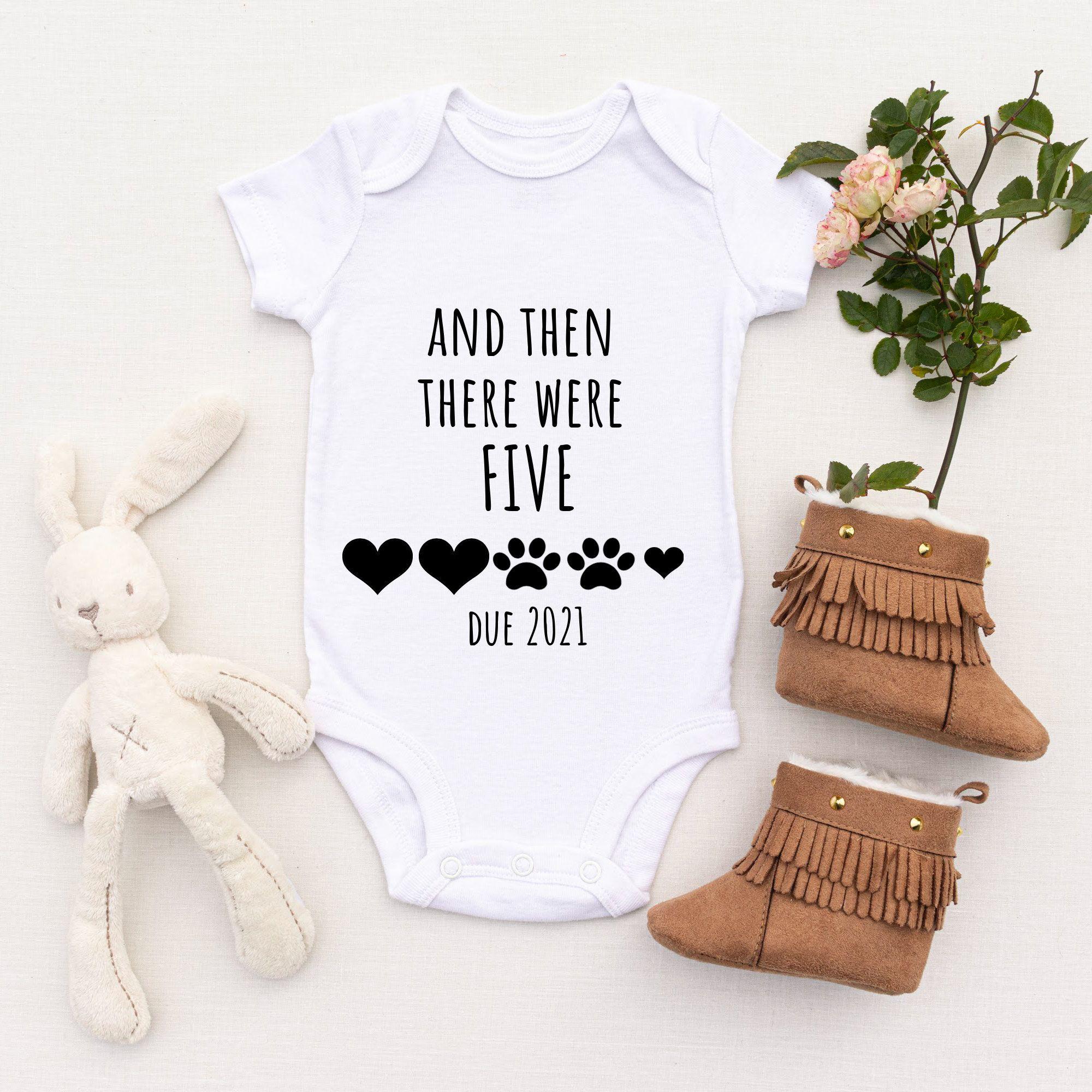 Baby Girl Announcement Custom Baby Announcement Baby Bodysuit Announcement Personalized Baby Announcement Bodysuit We/'re Expecting