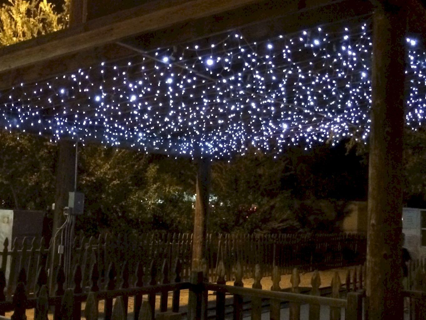 Outdoor Christmas Lights Decoration Ideas Home To Z Hanging Christmas Lights Christmas Light Installation Commercial Christmas Decorations