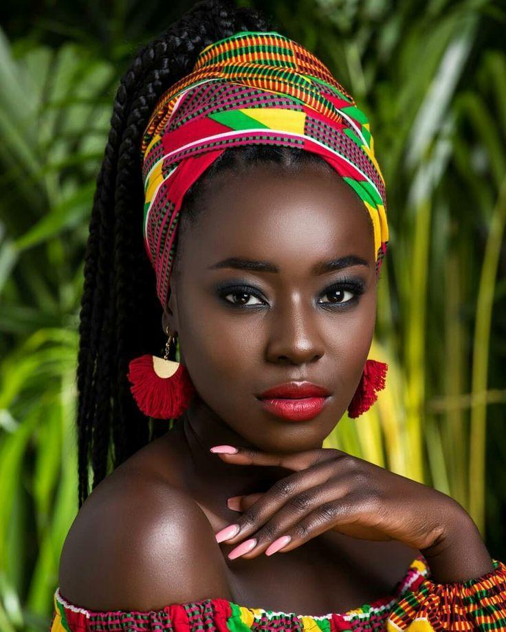 Африканские красавицы (111 фото) в 2020 г (с изображениями ...