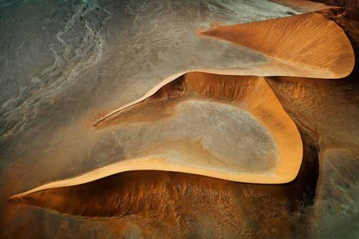"""Dunes from Above""""  Patti Schulze"""