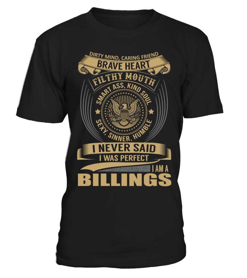 BILLINGS - I Nerver Said