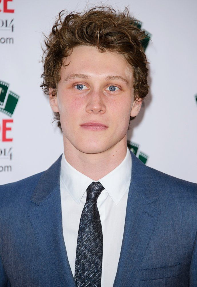 george mackay hair color
