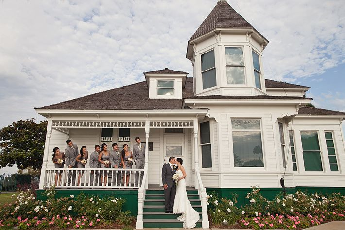 Amazing Newland House Huntington Beach Wedding Part - 10: Ceremony And Reception Site--already Booked At Newland Barn In Huntington  Beach!