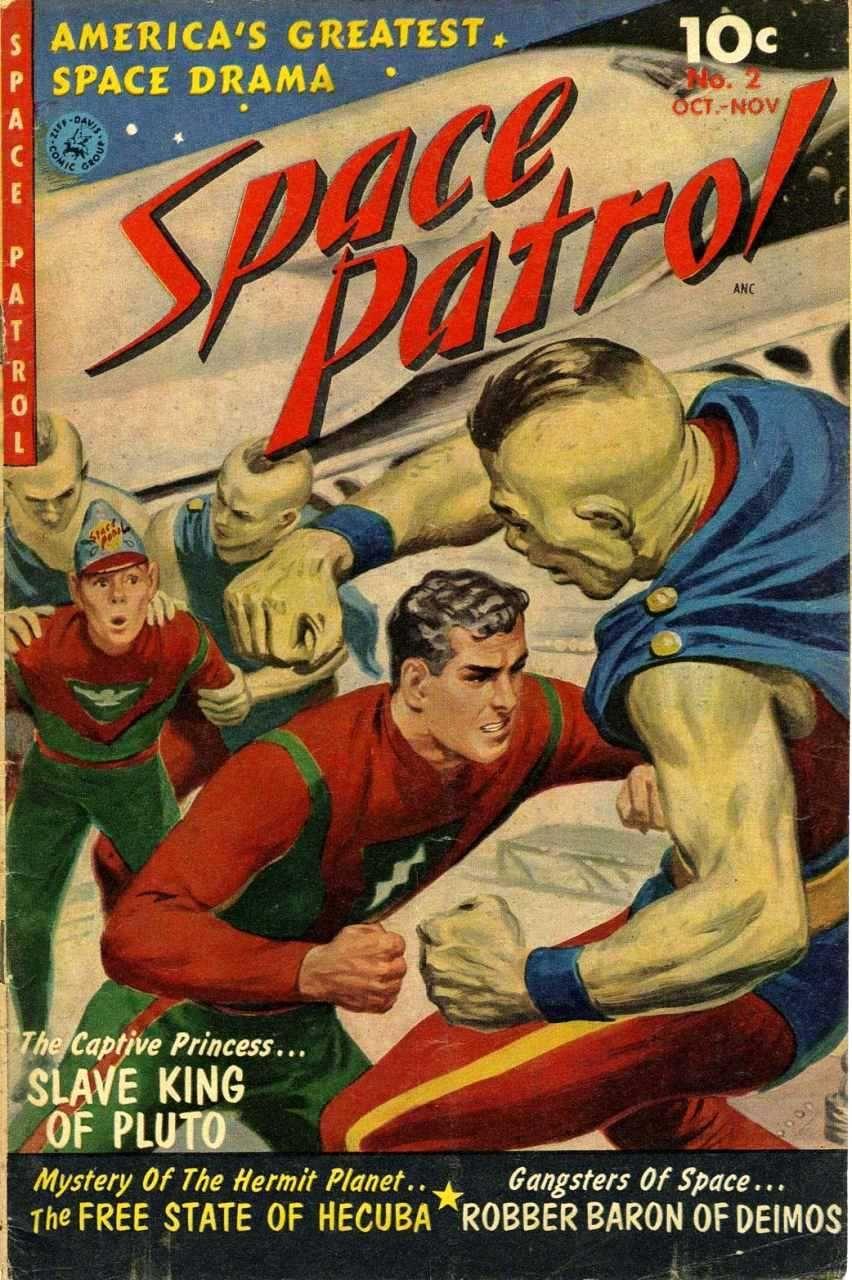 Space Patrol #2 September 1952