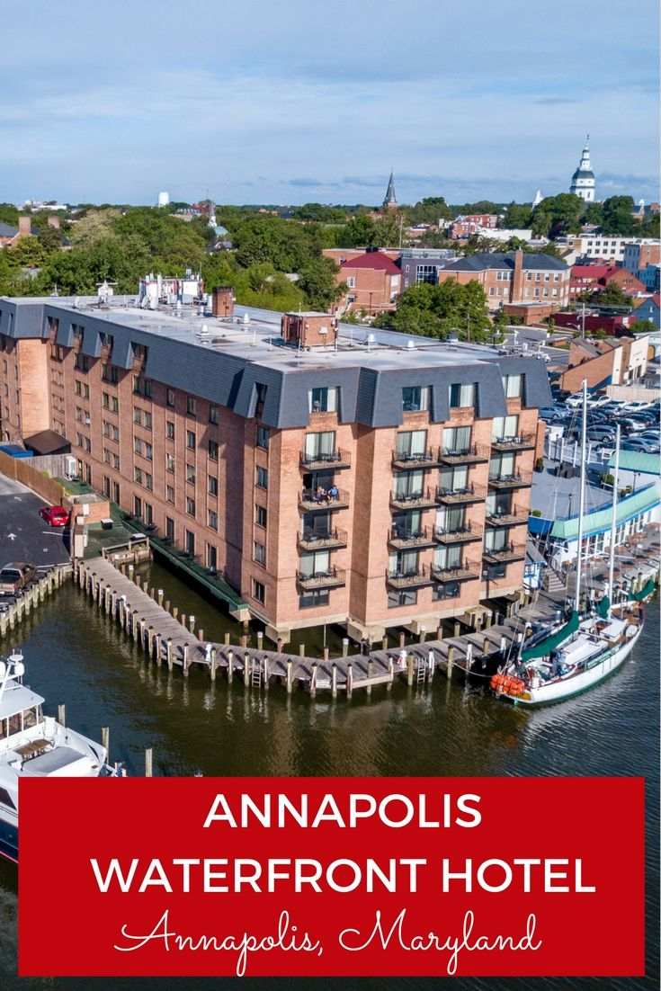 The Nautical Appeal Of The Annapolis Waterfront Hotel