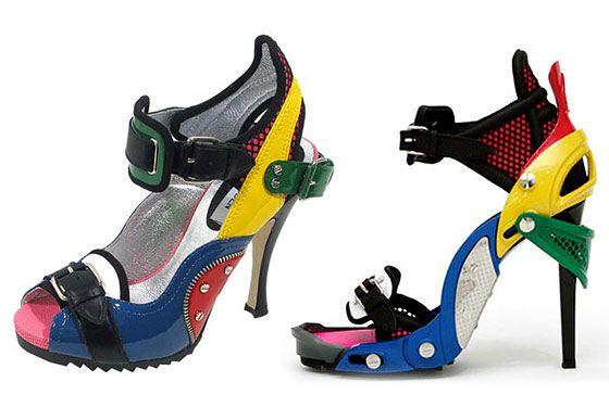 Balenciaga sues Steve Madden - cf. 'LEGO' Shoes - Balenciaga - Fall/
