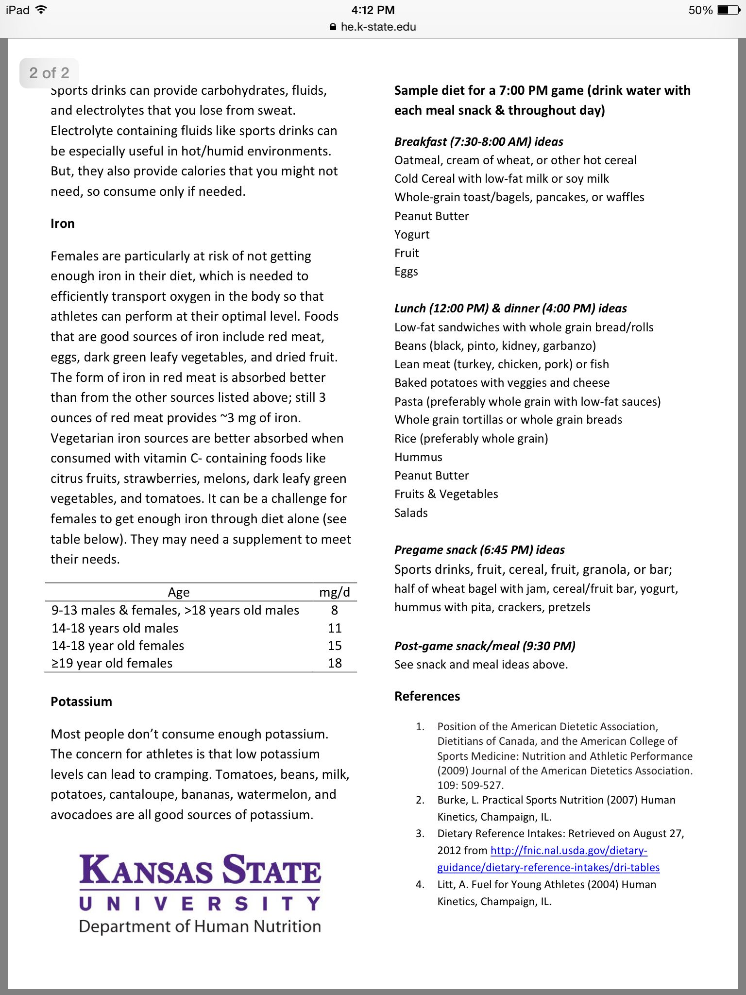 Teen Basketball Player Diet 2/2 | Basketball | American literature