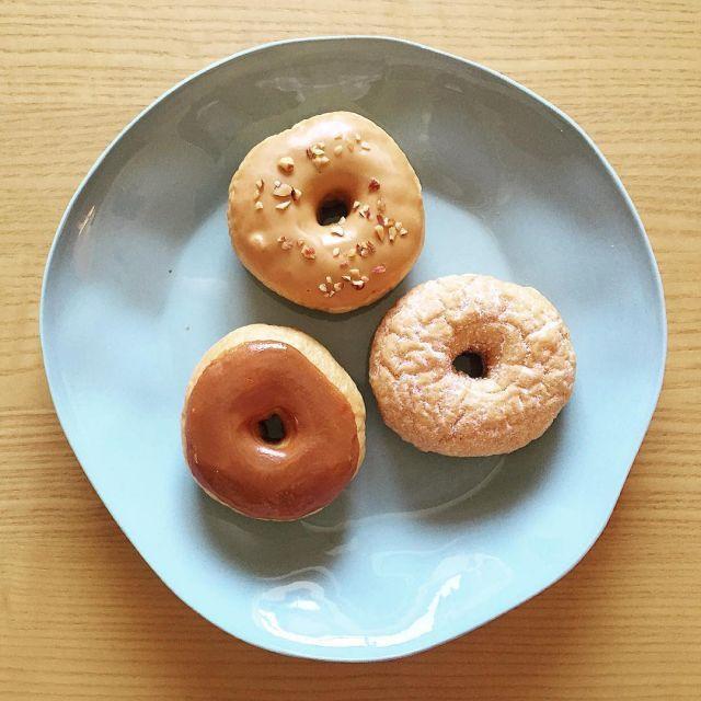 京都ニコットアンドマムは卵を使わないこだわりドーナツカフェ