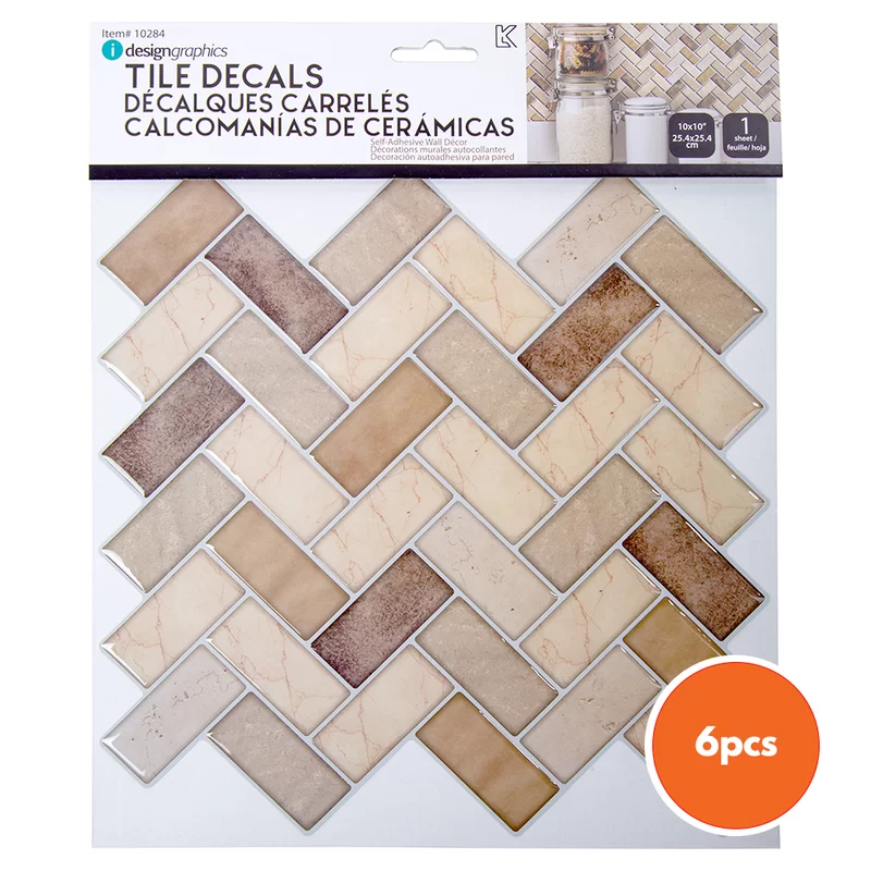 10 X 10 Pvc Peel Stick Mosaic Tile In 2020 Stick On Tiles Mosaic Tiles Easy Kitchen Backsplash