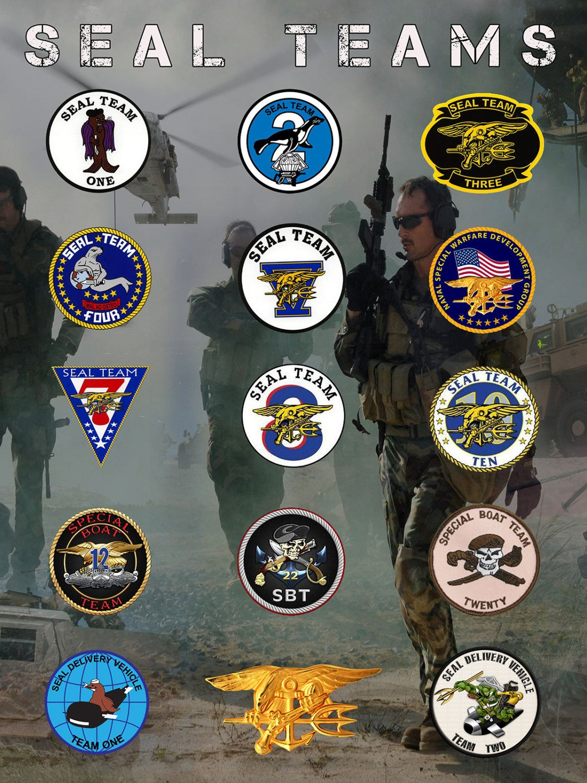 Focas Marina Poster motivación militar sello por FlashBangDesigns