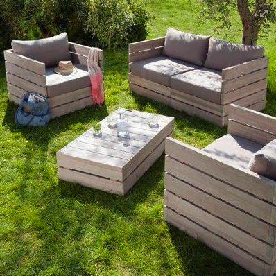 Budget Friendly Pallet Furniture Designs Palette Jardin Salon De Jardin Palettes Meuble Jardin