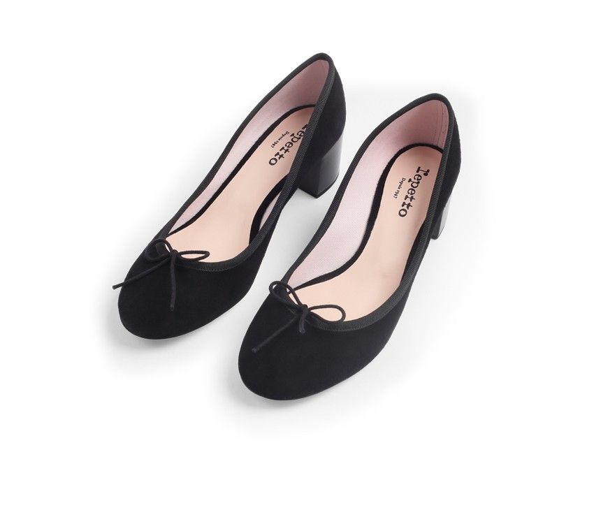 9a28fed16cad8 Farah Ballerina Black Goatskin suede | Shoes in 2019 | Shoes ...