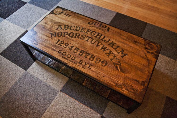 Ouija Board Table Google Search Diy Ouija Board Ouija Ouija Table