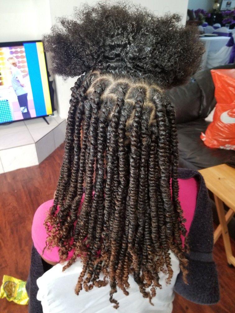 9/20/17 Finished my goddaughter Jazmyne's hair!! 2pks