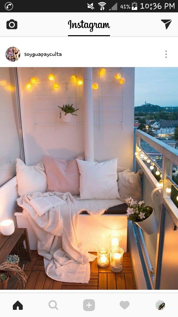 Apartment balcony ideas pictures to pin on pinterest - Apartment Hacks
