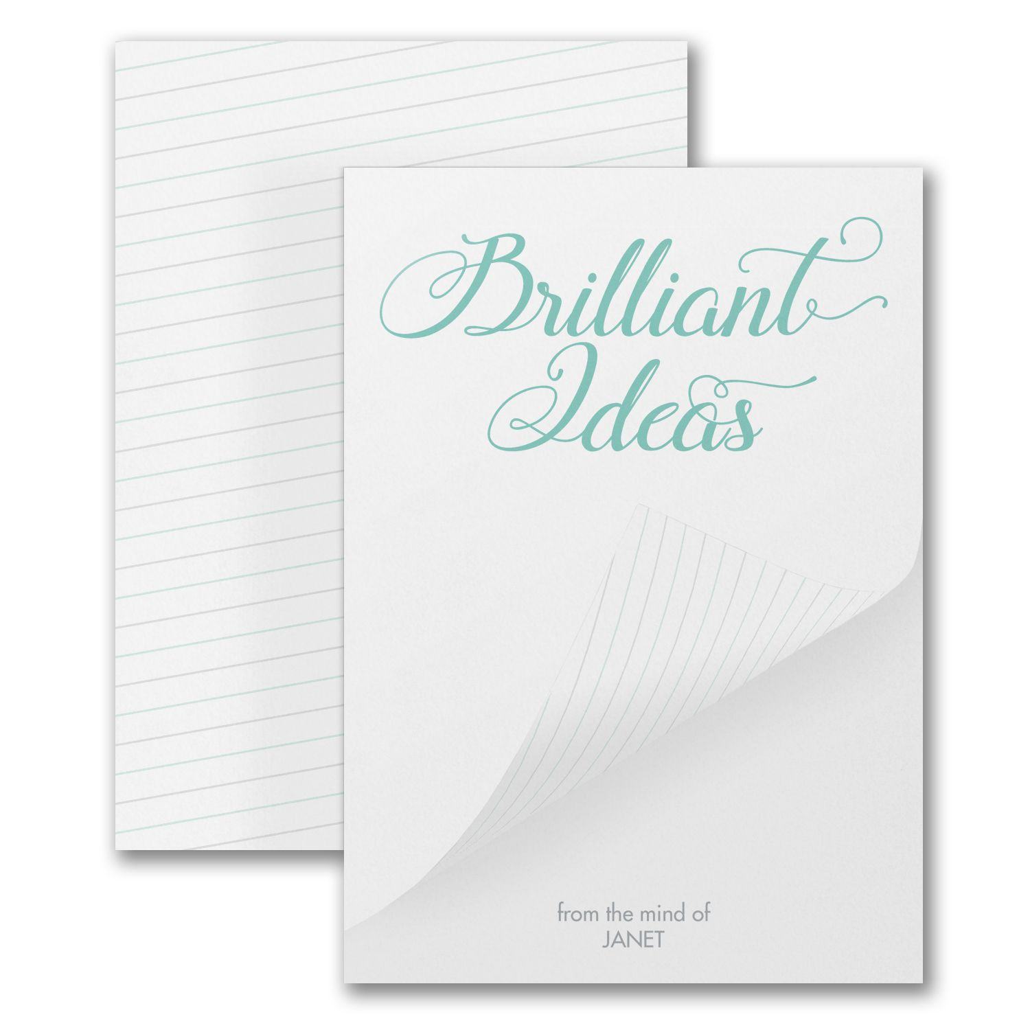 Brilliant Ideas - Notepad - 100 Sheets | Note pad ...