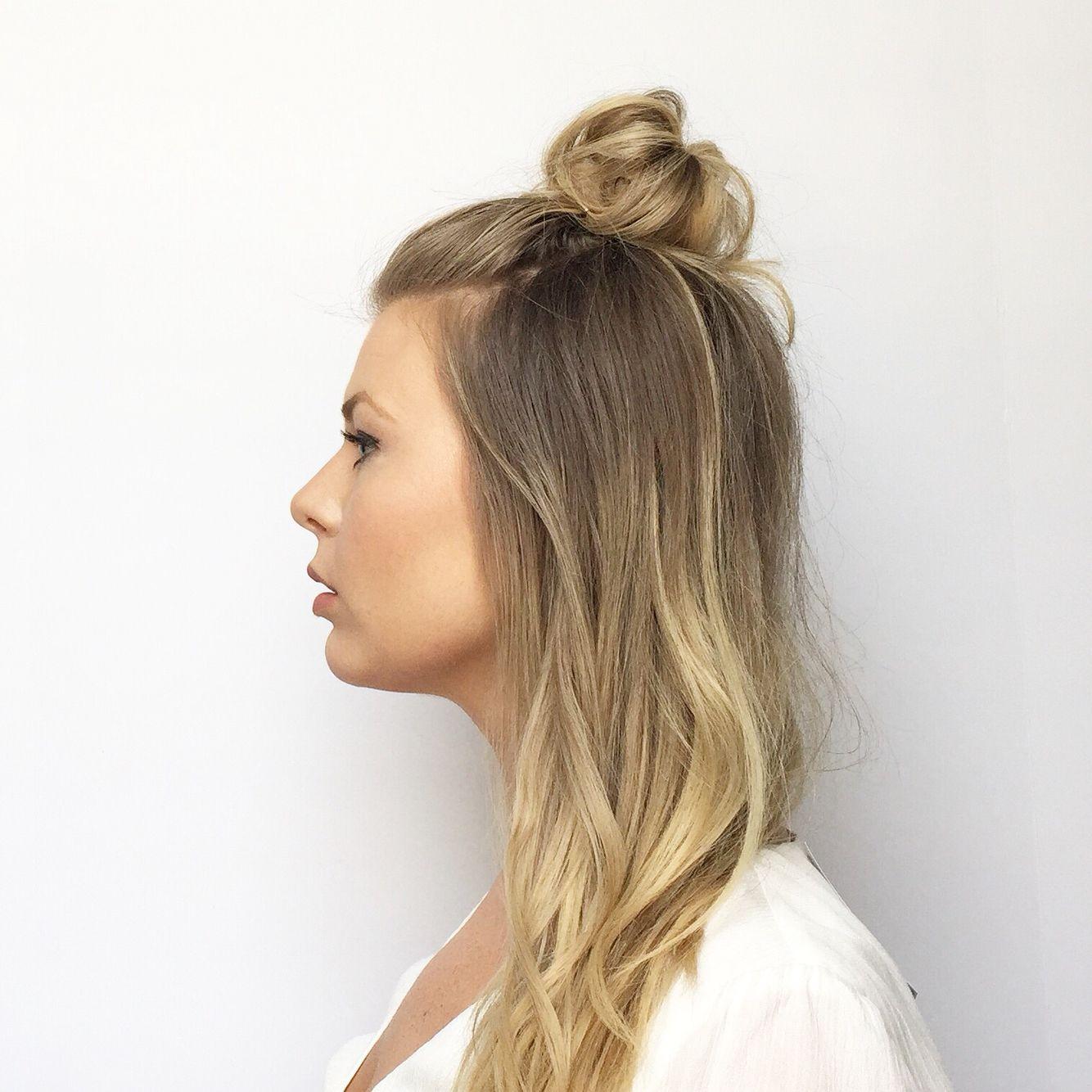 Sumo Top Knot Bun Hair Styles Hair Hair Makeup