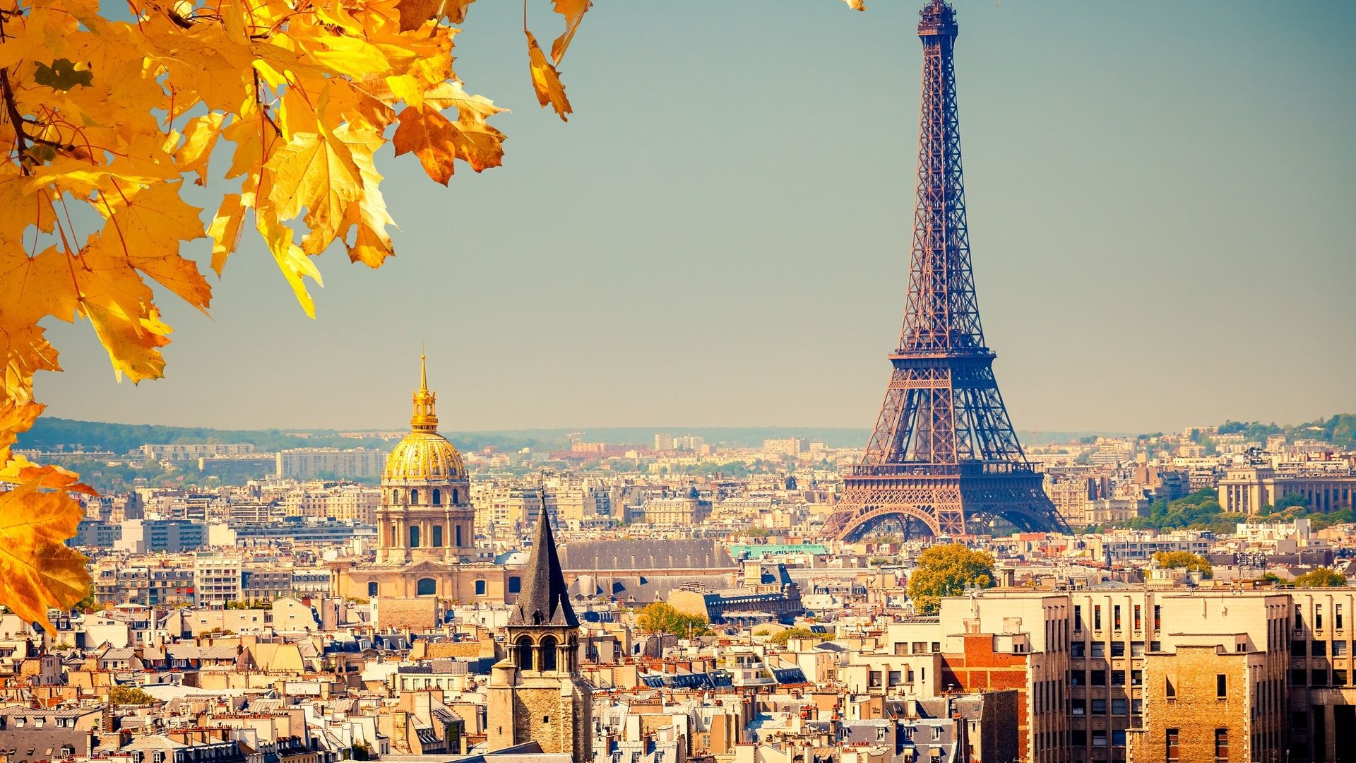 Обои Eiffel tower, france, paris, la tour eiffel. Города foto 15