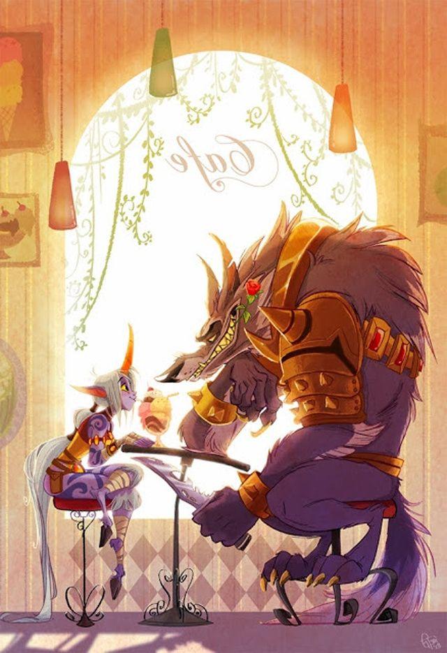 Si los personajes de League of Legends fueran dibujos animados, serían así                                                                                                                                                                                 Más