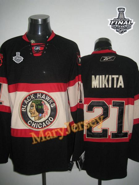 Only  34.88 please email me at maryjerseyelway gmail.com for Blackhawks 21  Stan Mikita Black New Third 2015 Stanley Cup Stitched NHL Jersey bf5c41856