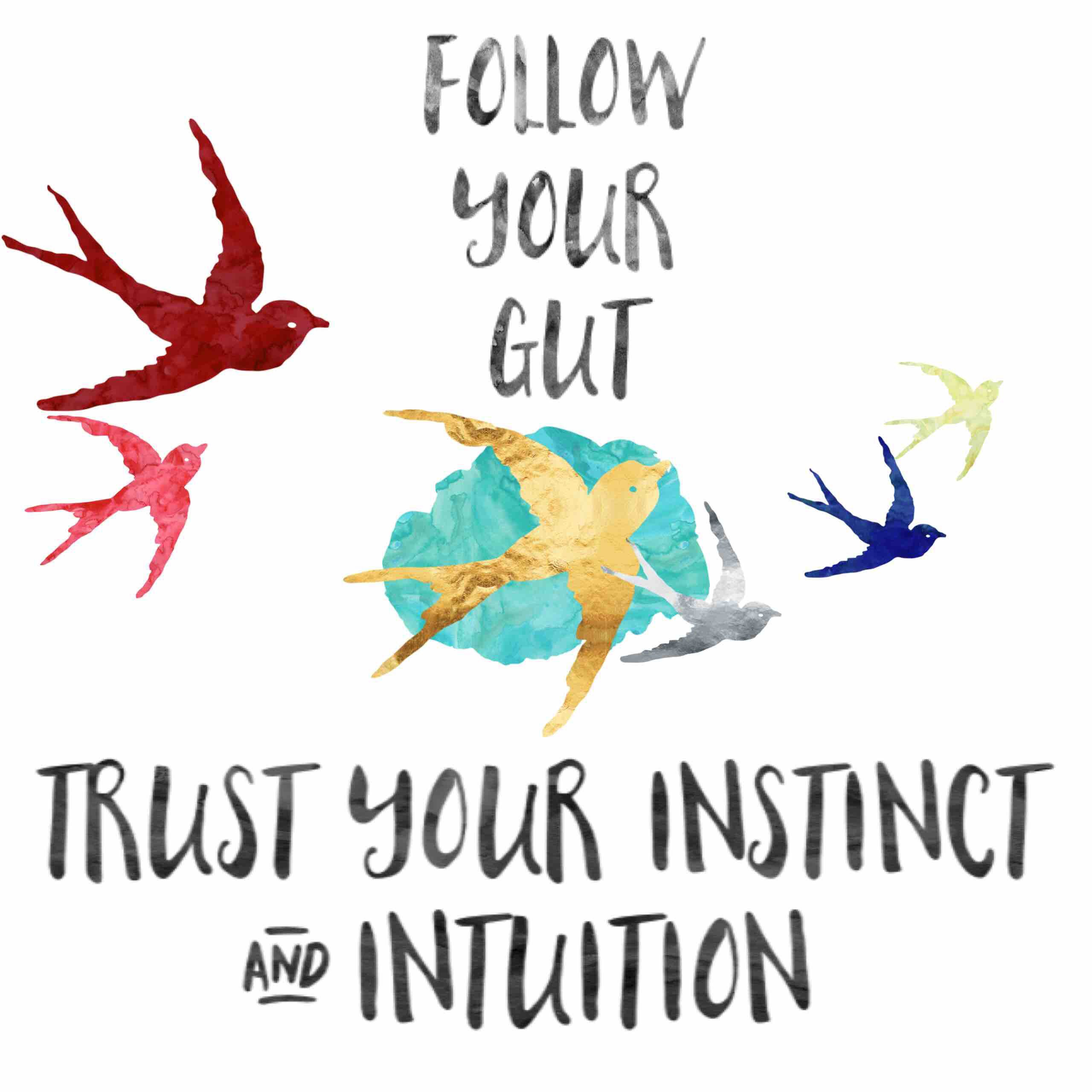 Follow your gut Trust Instinct & Intuition #instinct # ...