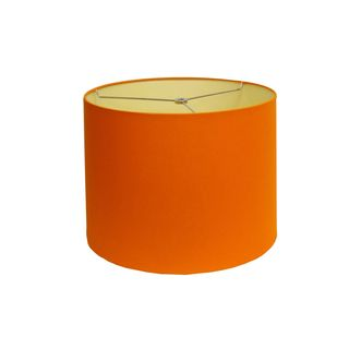 orange round hardback lamp shade overstock shopping great deals on table lamps