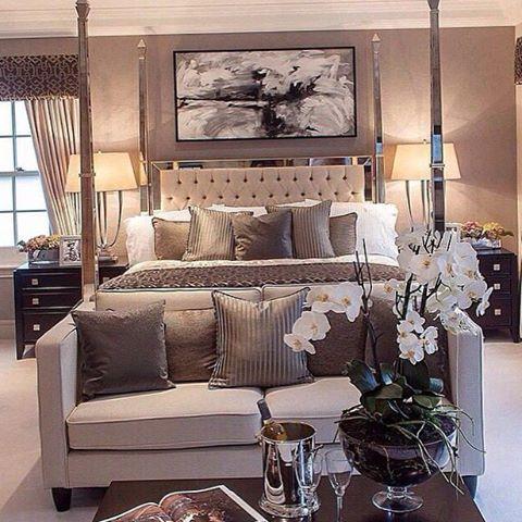 Une chambre luxueuse design d\u0027intérieur, décoration, maison, luxe
