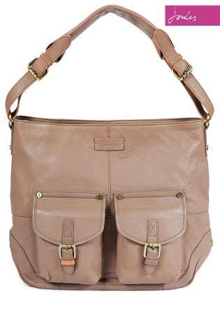 Buy Joules Leycett Mink Pocket Shoulder Bag from the Next UK ...