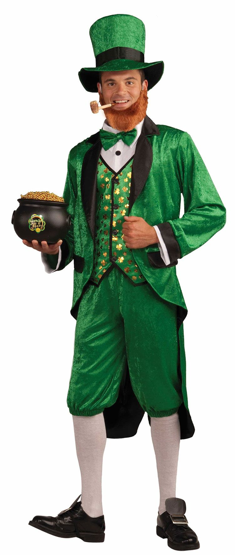 Mr Leprechaun Adult Costume St Patricks Day Costumes Irish - Dad turns his 6 month old son into real life leprechaun for st patricks day